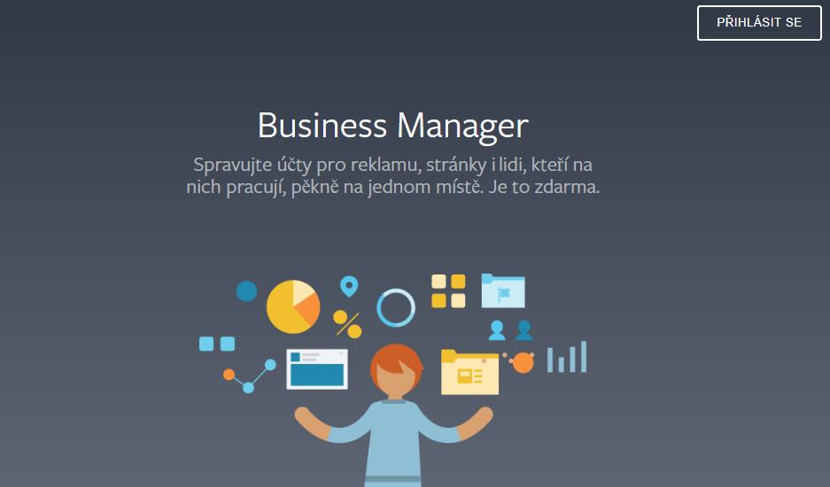 Založení business manažera