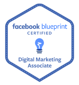 certifikát Facebook Digital Marketing Associate